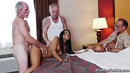 Step daddy will take and old italian Staycation with a Latin Hottie
